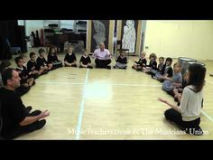 Primary Music Lesson: Rhythmically Speaking: 1 The Rhythm Game - YouTube