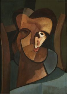 Emilio Pettorutti - Self Portrait (Argentine Paul Gauguin, Painter Photography, Cubist Artists, 20th Century Painters, Figurative Kunst, Equador, Georges Braque, India Eisley, European Paintings