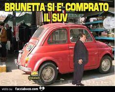 Brunetta si è comprato il SUV