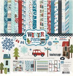 Echo Park - Winter Park Collection - 12 x 12 Collection Kit at Scrapbook.com $13.99