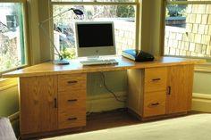 bay window desk - Google Search