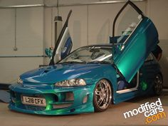 Image of Modified Honda Civic - not a fan of the paint job, body kit and color but I love the scissor doors! My Dream Car, Dream Cars, Honda Cars, Tuner Cars, Modified Cars, Honda Accord, My Ride, Rc Cars, Amazing Cars