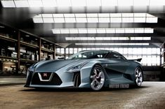 2016 Nissan GT R Rendering - Provided by MotorTrend