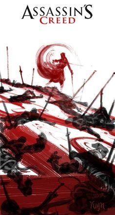 Assassins Creed artist's rendition