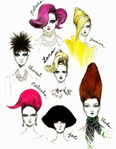 I LOVE ILLUSTRATION: Bijou Karman  Marc Jacobs drawings and studies by art student Bijou Karman. She is currently living in Los Angeles studying illustration at Art Center College of Design.