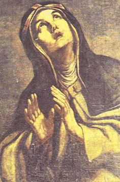 St. Bridget of Sweden-mystic and saint, and founder of the Bridgettines nuns and monks