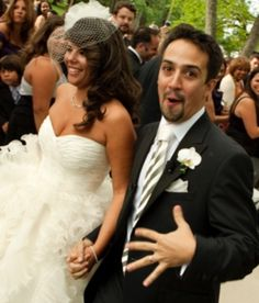 Highlights from the wedding of lyricist and Tony-award nominated actor, Lin-Manuel Miranda and Vanessa Nadal, a lawyer, at Belvedere Mansion in Staatsburg. Lin Manuel Miranda Wedding, Hamilton Lin Manuel Miranda, Alexander Hamilton, Lin Manual Miranda, Anthony Ramos, Hamilton Musical, And Peggy, In The Heights, Actors & Actresses