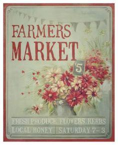 love farmer's market...  Thursday nights~San Luis Obispo! :)