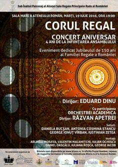 Corul Regal - Concert Aniversar Concert, Color, Concerts