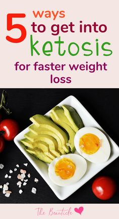 How to put your body into ketosis for faster weight loss and results on the keto diet #keto