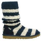 UGG Classic Tall Stripe Knit Blue 5822