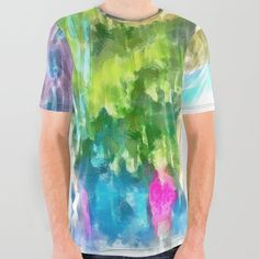 All Over Graphic Tee