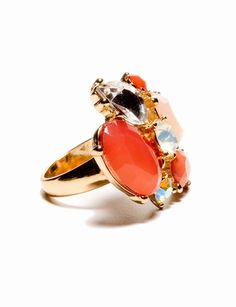 The Limited - Multi Stone Cocktail Ring: $26.90