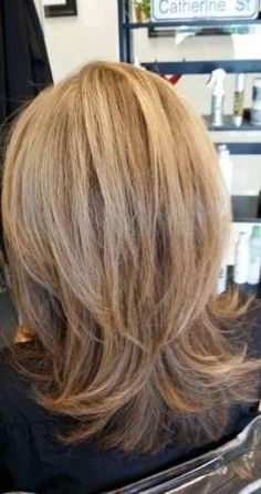 60 shoulder length hair cuts with layers 2019 00135 Litledress Thin Hair Cuts, Short Thin Hair, Short Blonde, Hair Styles 2016, Medium Hair Styles, Short Hair Styles, Layered Haircuts Shoulder Length, Shoulder Length Hair, Medium Layered Hair
