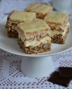 Ciasto Krówka Polish Desserts, Just Desserts, Sweet Recipes, Cake Recipes, Dessert Recipes, Traditional Cakes, Breakfast Menu, Homemade Cakes, Dessert Bars