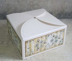 Designs by Marisa: Heartfelt Creations Wednesday - Vintage Floret Gift Box