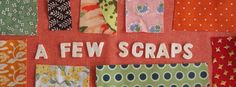 A Few Scraps---This is a great blog for free motion quilting designs!