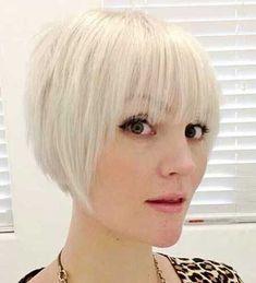 15 cortes de pelo corto que va a hacer que usted quiere Bangs // #Bangs #Cortes #corto #hacer #pelo #quiere #usted