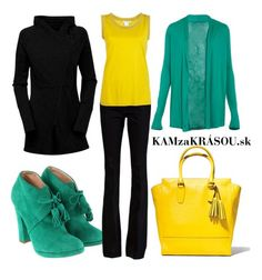 Tyrkysovo modrá so žltou na bežný deň #kamzakrasou #sexi #love #jeans #clothes #coat #shoes #fashion #style #outfit #heels #bags #treasure #blouses #dress