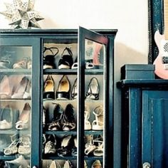 Additional shoe storage!