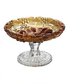 Take a look at this Amber Footed Plate by Eat, Drink & Be Merry: Holiday Buffet on @zulily today!