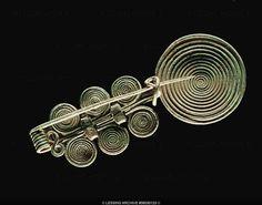 Spiral-brooch from Feuersbrunn. Late Bronze Age (1250-850 BCE)