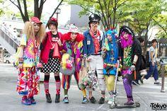 harajuku fashion   Super-Cute & Colorful Harajuku Street Fashion