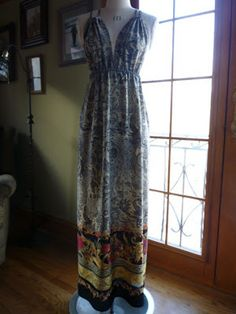 Fabulous Free Pattern Friday: she calls this a negligee, but it looks like a great maxi dress to me