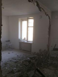 Purettu seinä