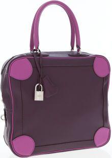 #Hermes 25cm Raisin and Cyclamen Epsom Leather #Omnibus Bag with Palladium Hardware http://jewelry.ha.com/c/item.zx?inventoryNo=337740008