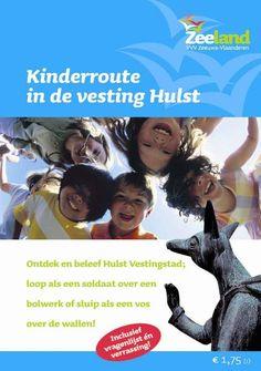Kinderroute in de vesting Hulst op www.zeelandshop.com