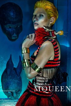 Kate Moss by Steven Klein for Alexander McQueen S/S 2014