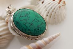 AWESOME COOL COPPER TURQUOISE FASHION JEWELRY .925 SILVER OVERLAY PENDANT #925silvercastle #Pendant