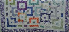 Quilted4You: Cassies graduation quilt by Grandma Mary Jo #longarm #quilting