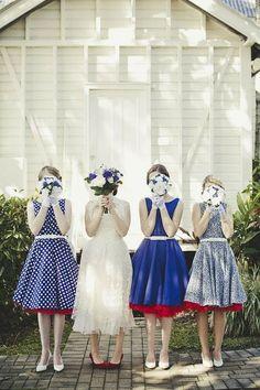 Lace Tea Length Wedding Dress - Love the petticoats!