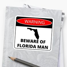 Florida Man, who is he really? No one knows, however he seems to be some sort of shape-shifter with a strange appetite for crime and equally strange behavior Behavior, Crime, Digital Art, Finding Yourself, Politics, Florida, Stickers, Shape, Signs