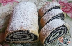 197 z Holiday Desserts, Sweet Desserts, Sweets Recipes, Baking Recipes, Challa Bread, Czech Recipes, Party Finger Foods, Hungarian Recipes, Bread And Pastries