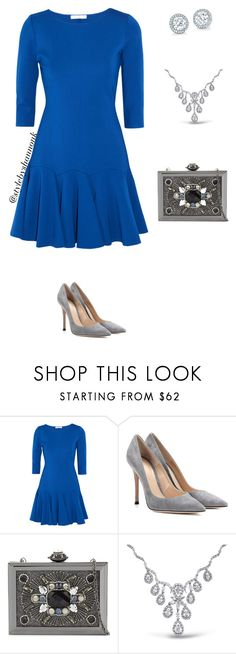 """women's fashion"" by style-by-shannon-leeper ❤ liked on Polyvore featuring Halston Heritage, Gianvito Rossi, ALDO and Bling Jewelry"