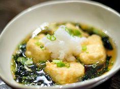 Agedashi Tofu at Izakaya Bincho