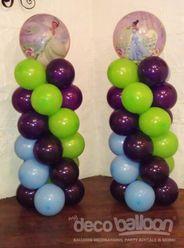 43. Princess and the Frog Balloon Column