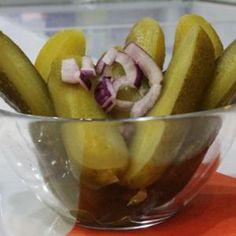Csemegeuborka - Megrendelhető itt: www.Zmenu.net - A vizuális ételrendelő. Pickles, Cucumber, Food, Eten, Pickle, Pickling, Cauliflower, Meals, Zucchini