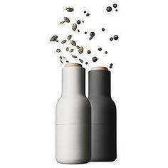 Amazon.com: Bottle Grinder, small, carbon/ash set: Kitchen & Dining