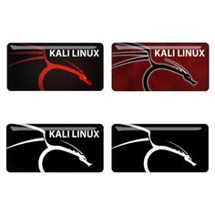 Kali Linux Logo 3D Domed Computer Case Badges have turned out really awesome looking!