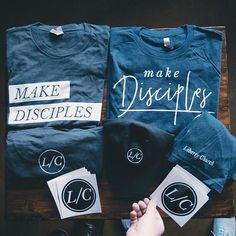 Make Disciples Pro Church Media Church Graphic Design, Church Design, Kids Church, Church Ideas, Church Ministry, Tee Shirt Designs, Tee Shirts, Church Decorations, Wedding Hair