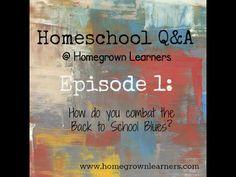 Homeschool Q & A: Back to Homeschool Blues