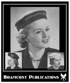 free download from Bramcost Publications (as of 4/29/12) -  Vintage 1950s Pillbox Hat Pattern (3 Trim Styles)