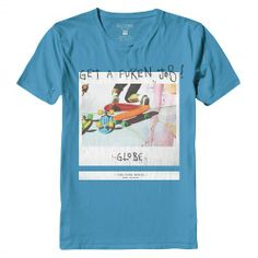 GLOBE Jobless Boys tee-shirt maui blue 25,00 € #globe #globeshoes #tee #tees #tshirt #tshirts #teeshirts #teeshirt #skate #skateboard #skateboarding #streetshop #skateshop @April Gerald Skateshop