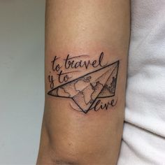 "201 Me gusta, 6 comentarios - Pink Tattoos Malaysia (@pinktattoos) en Instagram: ""#traveltattoo by Fin (@fintattoos)"""