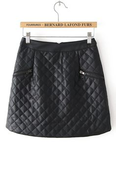 2013 Autumn & Winter New Section Parallelogram Pattern Fashion Skirt
