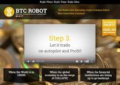 "BTC Robot 2017 REVIEW BTC Robot 2017 Preview: (to pause video, simply tap/click on it) Summary Created by professional Bitcoin traders to help their clients generate profits trading Bitcoin BTC Robot 2017 is a new breakthrough Bitcoin trading robot that takes very little knowledge to set-up Read 100% Free BTC Robot 2017 Review by Scamorno Team Details System … Continue reading ""BTC Robot 2017 Review – Is BTC Robot Scam?"""
